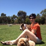 Dog Park with Peppa and Lucy